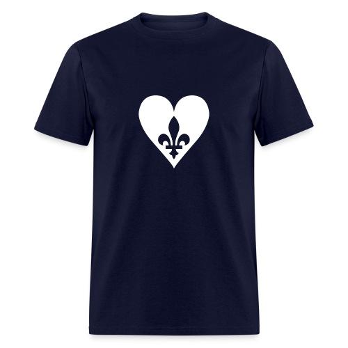 Coeur du Québec - Men's T-Shirt