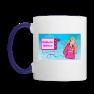 Mugs & Drinkware ~ Contrast Coffee Mug ~ DiabeticDanica Logo Mug