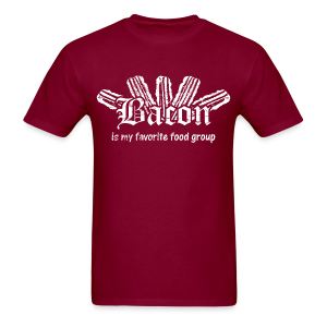 Bacon is my Favorite Food Group Shirt - Men's T-Shirt