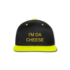Da Cheese Hat - Snap-back Baseball Cap