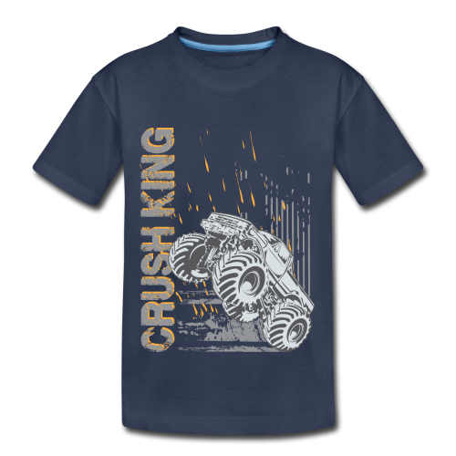Monster Truck Crush - Kids' Premium T-Shirt