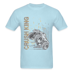 Monster Truck Crush - Men's T-Shirt