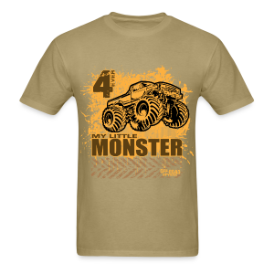 little monster bigfoot - Men's T-Shirt