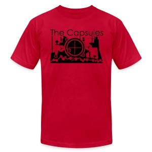 Super Symmetry T-Shirt - AA - Red - Men's Fine Jersey T-Shirt