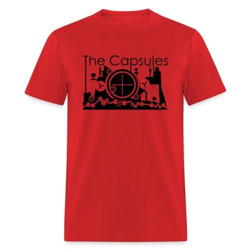 Super Symmetry T-Shirt - Standard - Red - Men's T-Shirt