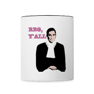 Mugs & Drinkware ~ Contrast Coffee Mug ~ RBG Y'all Mug
