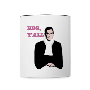 RBG Y'all Mug - Contrast Coffee Mug