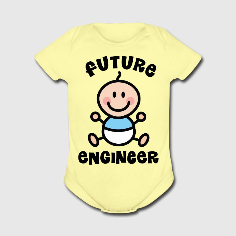 Future Engineer Baby & Toddler Shirts - Short Sleeve Baby Bodysuit