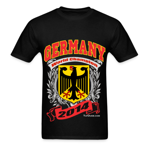 Germany 2014 Mens Black - Men's T-Shirt