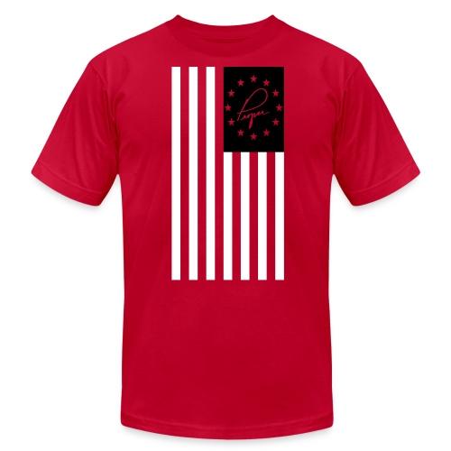 America Proper Black - Men's  Jersey T-Shirt