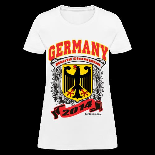 Germany 2014 Womens White - Women's T-Shirt