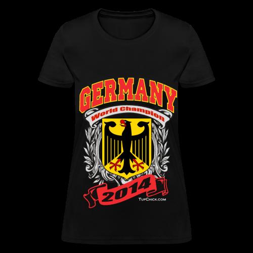 Germany 2014 Womens Black - Women's T-Shirt