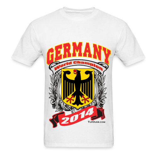 Germany 2014 Mens White - Men's T-Shirt
