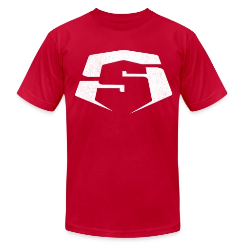 SuperSokol - spec edition RED [m] - Men's Jersey T-Shirt