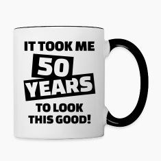 50 birthday Bottles & Mugs