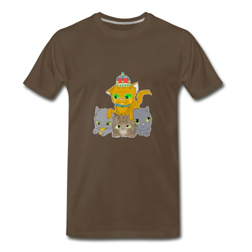 King Milo & Friends Men's Tee! - Men's Premium T-Shirt