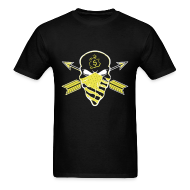 T-Shirts ~ Men's T-Shirt ~ Trill Skull Thunder