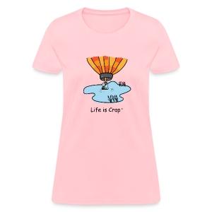 Ballooning Pond Crash   - Womens Classic T-Shirt - Women's T-Shirt