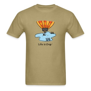 Ballooning Pond Crash  - Mens Classic T-Shirt - Men's T-Shirt
