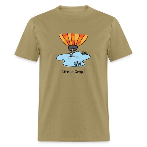 Ballooning Pond Crash  - Mens Classic T-Shirt - Men's T-Shirt