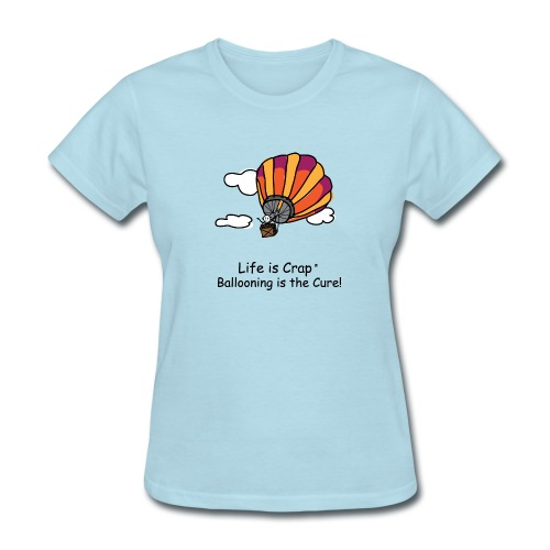 Ballooning is the Cure  - Womens Classic T-Shirt - Women's T-Shirt