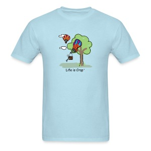 Ballooning Tree Crash - Mens Classic T-Shirt - Men's T-Shirt