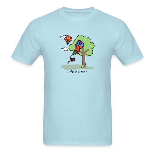 Ballooning Tree Crash - Mens Classic T-Shirt - Men's T-Shirt