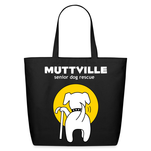 Muttville tote bag - Eco-Friendly Cotton Tote