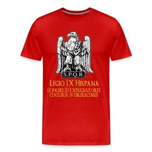 Red Legio IX Shirt - Men's Premium T-Shirt