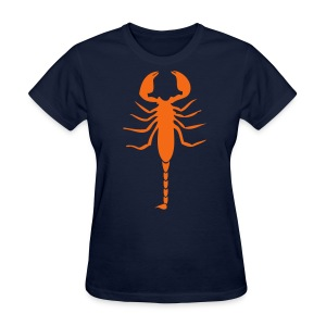 Scorpion (Orange) - Women's T-Shirt