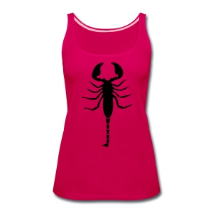 Scorpion (Black) - Women's Premium Tank Top