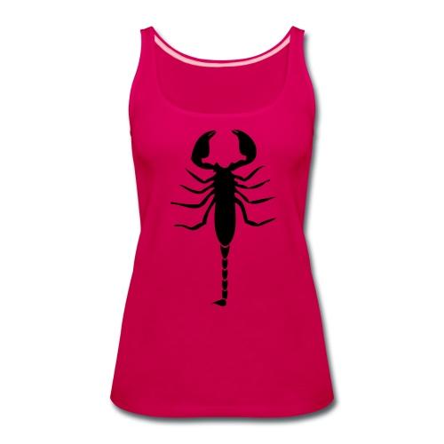 Scorpion (Black) - Women's Premium Tank Top
