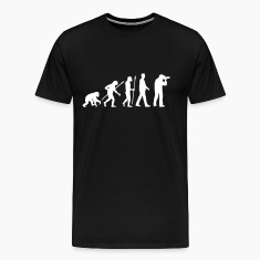 evolution_of_man_photographer_a_1c T-Shirts