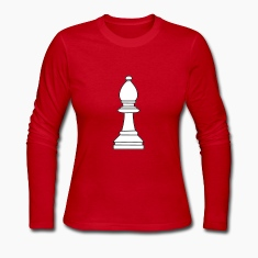 Bishop, chess pieces bishop Long Sleeve Shirts