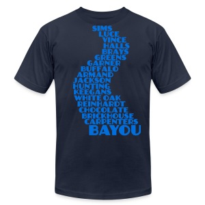Bayou City - Men's T-Shirt by American Apparel