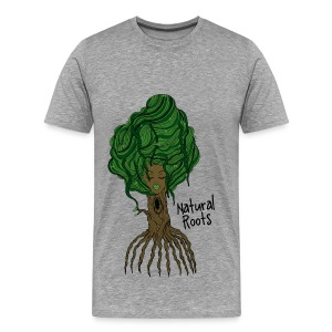 Natural Roots Tee - Men's Premium T-Shirt