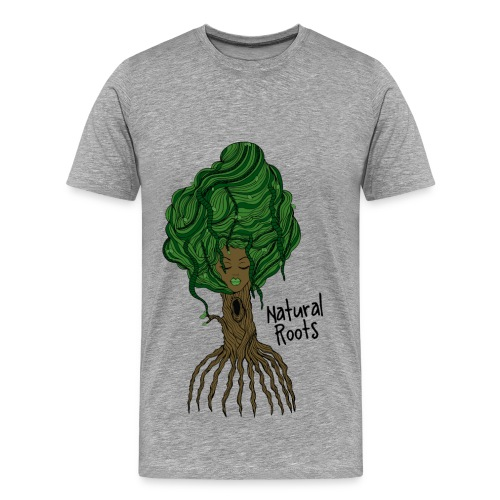 Natural Roots Tee - Men's Premium T-Shirt