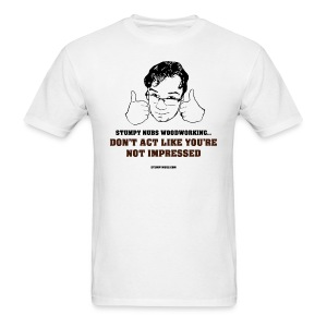 Not impressed - Men's T-Shirt