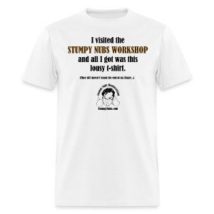 Visit Stumpy - Men's T-Shirt