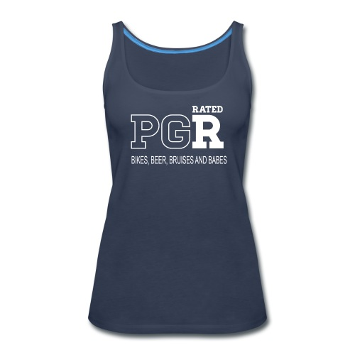 Rated PGR (Womens) - Women's Premium Tank Top