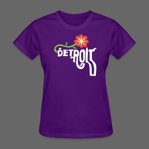 A Better Detroit Gun Shirt - Women's T-Shirt