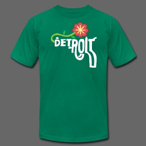 A Better Detroit Gun Shirt - Men's T-Shirt by American Apparel