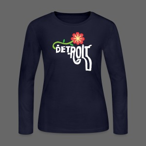 A Better Detroit Gun Shirt - Women's Long Sleeve Jersey T-Shirt