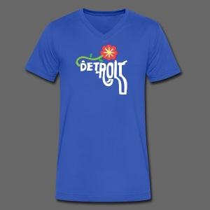 A Better Detroit Gun Shirt - Men's V-Neck T-Shirt by Canvas