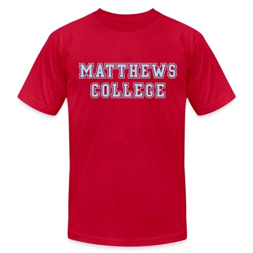 Matthews College T-shirt - Men's Fine Jersey T-Shirt