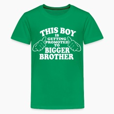 Promoted to Bigger Brother Kids' Shirts
