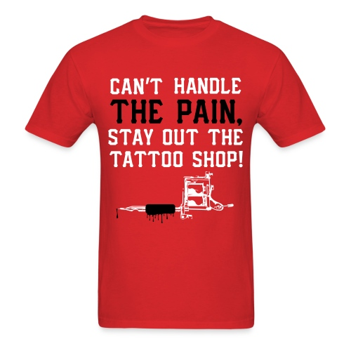 tattoo pain - Men's T-Shirt
