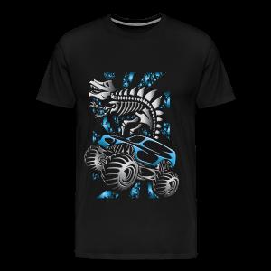 Monster SkeleT-Rex Truck - Men's Premium T-Shirt