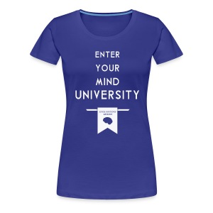 Enter Your Mind University - Geek History Lesson T-Shirt (Women) - Women's Premium T-Shirt