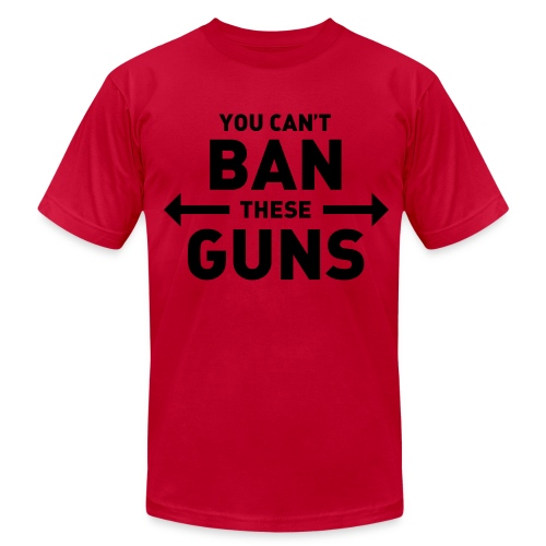 You can't ban these guns - Men's  Jersey T-Shirt